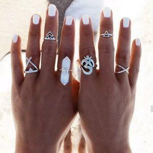6 Piece Boho Stackable Ring Set